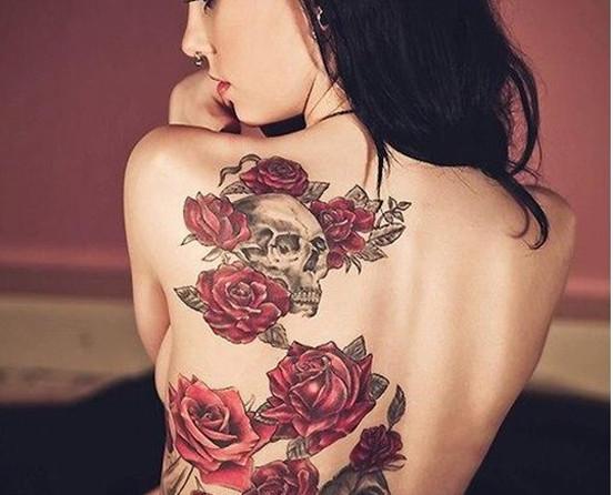 Hình xăm hoa hồng cho nam đẹp & cá tính nhất hiện nay