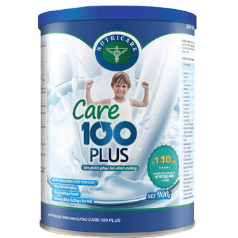 sua-Care 100 Plus-cho-tre-cham-tang-can