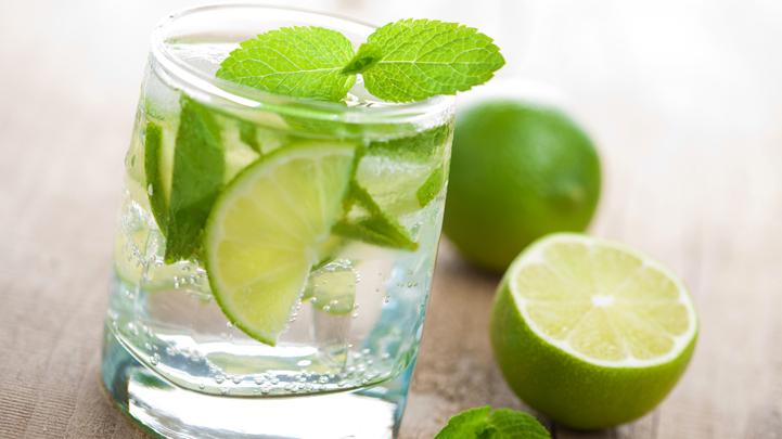 uống nước chanh tươi giảm cân